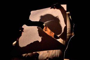 Театр «Les anges au plafond» привез спектакль «О сне, что был моей жизнью» на Образцовфест