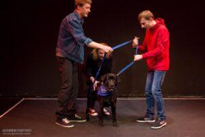 Спектакль «Загадочное ночное убийство собаки» на фестивале «Уроки режиссуры»