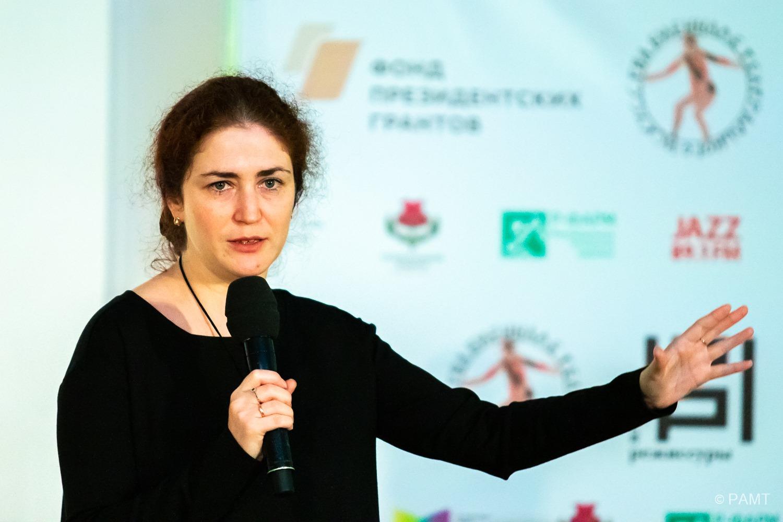 Лекция Софьи Апфельбаум в рамках фестиваля «Уроки режиссуры»
