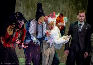 Спектакль «Женщина-змея», театр на Малой Бронной. Всем сказок!