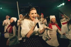 Спектакль «Кабаре. Сны на Патриарших», театр МОСТ, «Мир кабаре друзей встречай…»