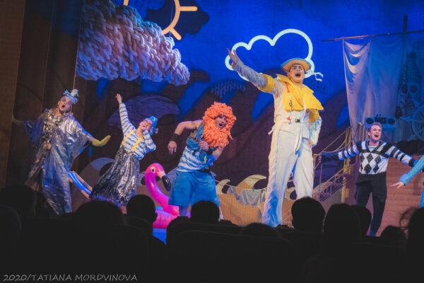 Первый в истории Театра Олега Табакова детский спектакль. Фоторепортаж
