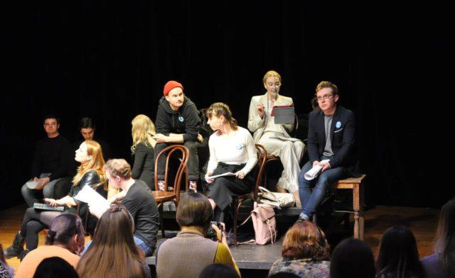 Открытая читка пьесы «Всем, кого касается» в МОГТЮЗ. Осознанная встреча с театром, или Подросткам на заметку