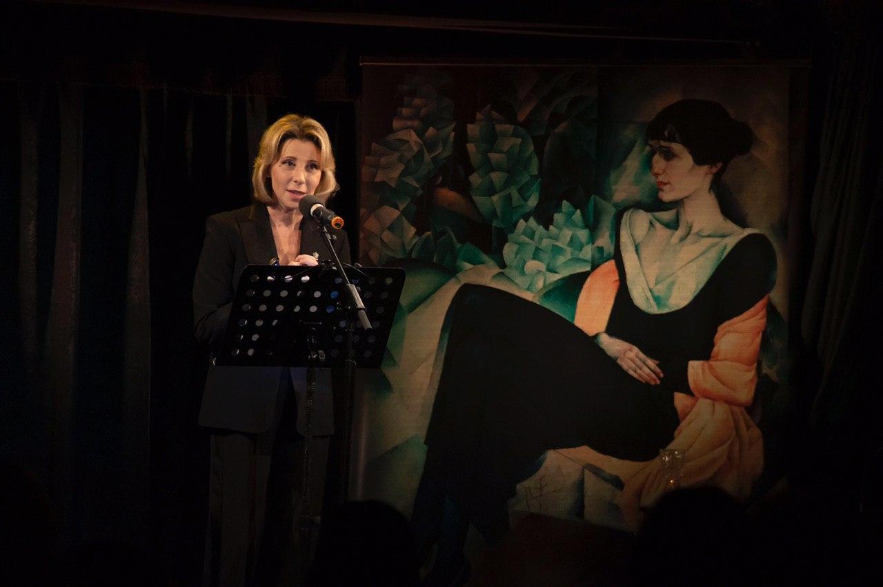 «13 вопросов к Ахматовой», поэтический вечер Юлии Рутберг