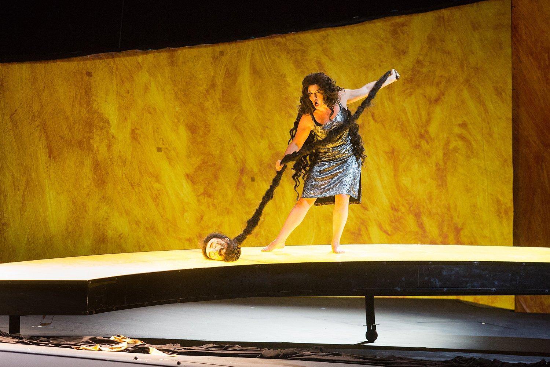 Спектакль «Саломея», Новая опера. Неистово-прекрасное творение