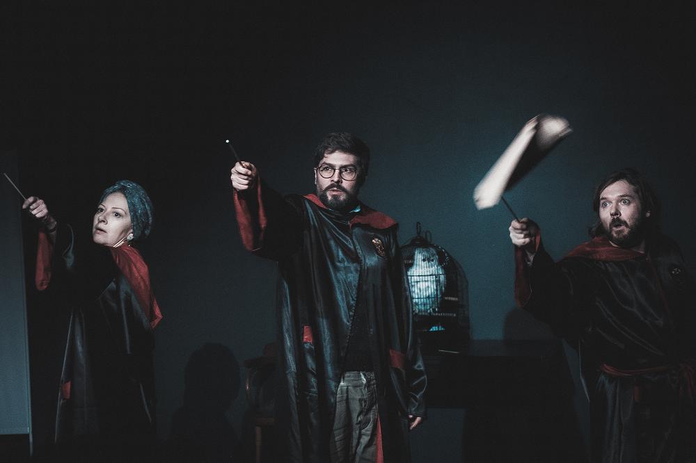 «Гарри в огне», Театр.doc. Престарелые волшебники о политике и магии театра