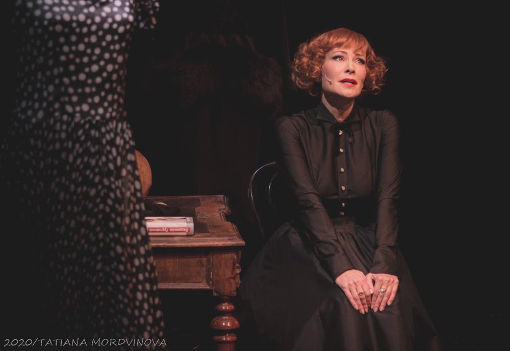 Нонна Гришаева сыграла Людмилу Гурченко на сцене театра им.Е.Вахтангова