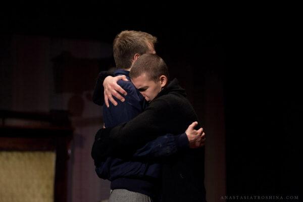 Премьера спектакля «Старший сын» в Театре Олега Табакова. Фоторепортаж
