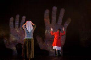 Спектакль «Человек с глазами Моцарта», Театр «Модерн». Фоторепортаж