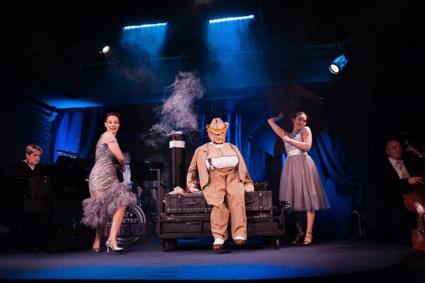 Первая премьера нового сезона в театре им.Е.Вахтангова. Спектакль «Мистер Twister»