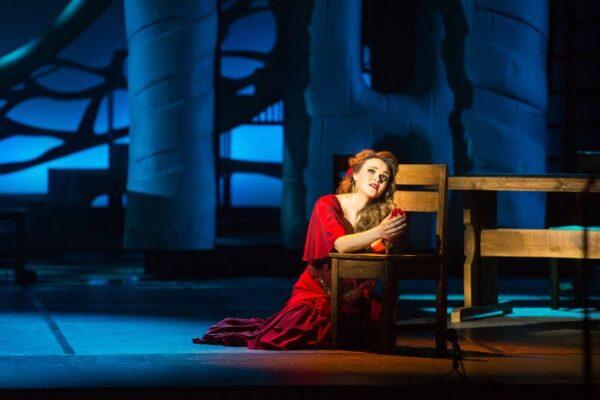 Каменное сердце Кармен. Спектакль «Кармен», Новая Опера