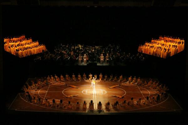 Мир, взявшийся за руки. Трансляции Девятой Симфонии Мориса Бежара от Theatre HD