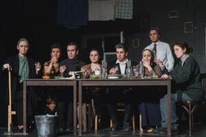 Спектакль «Вдовий пароход», Театр города М. Фоторепортаж