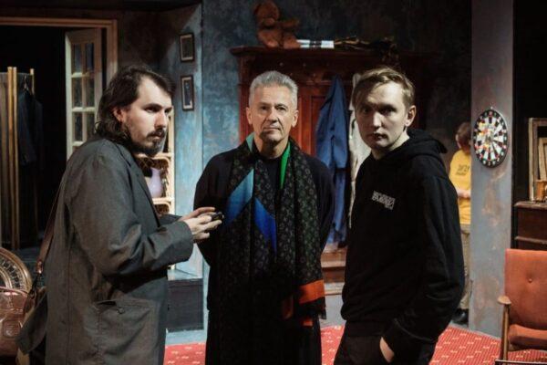 Открытая репетиция спектакля «Оглянись во гневе» в Театре Ермоловой