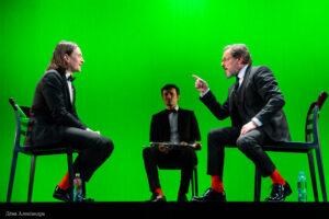 Read more about the article Юрий Чурсин и Игорь Скляр в спектакле «Эмигранты». Фоторепортаж