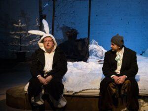«51 минута драматического кабаре»: премьера «Не горюй, заяц!» в Театре «ОКОЛО дома Станиславского»