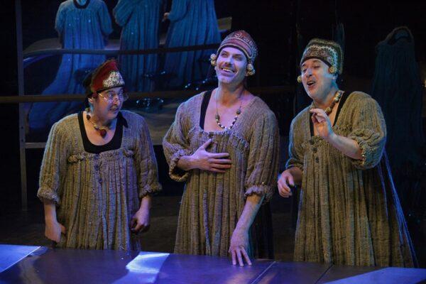 Радуйтесь жизни! Спектакль «Баба Шанель», Театр на Юго-Западе