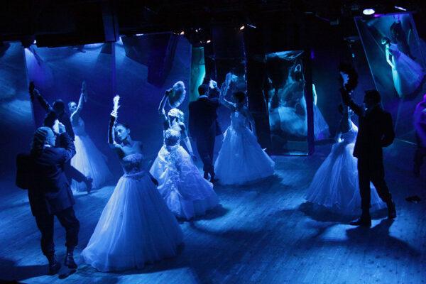 Переполох в Лондоне. Спектакль «Дракула», Театр на Юго-Западе