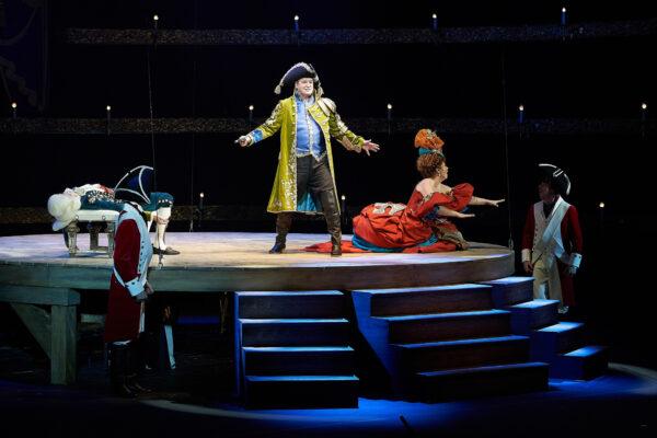 Авантюрная комедия «Король vs Король» в театре «Буфф»: неравная борьба за любовь