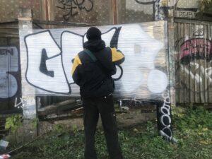 Read more about the article Заговор свободы. 4elovekvmaske — московская версия променад-спектакля о граффити